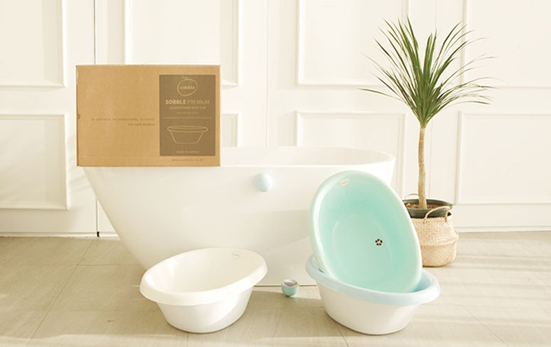 Cushioned Baby Bath Tub