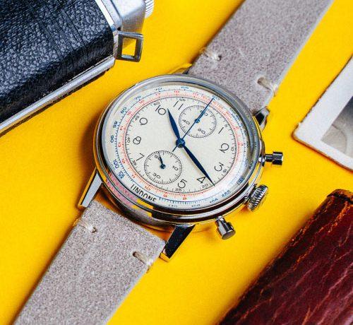 UNDONE Watches Urban Vintage Grey Strap Watch