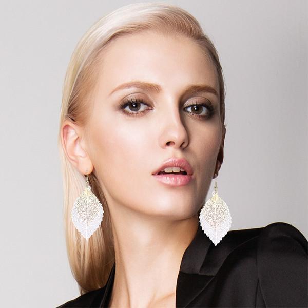 Bohemian Style Leaf Earrings