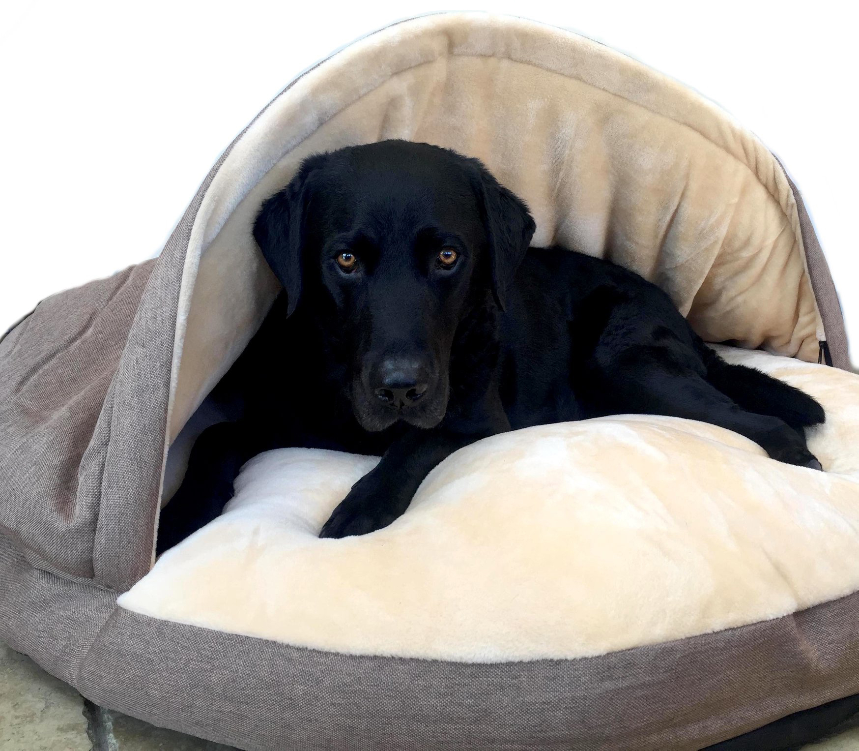 Luxury Cosy Cave Dog Bed