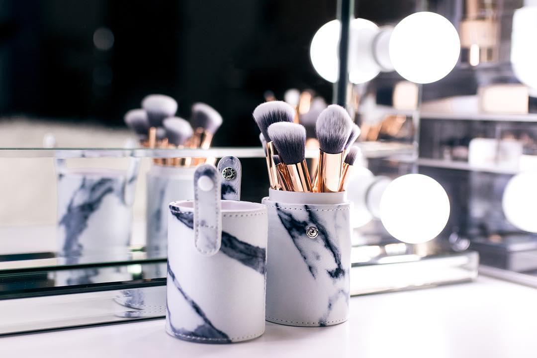 Marble Makeup Brush Set
