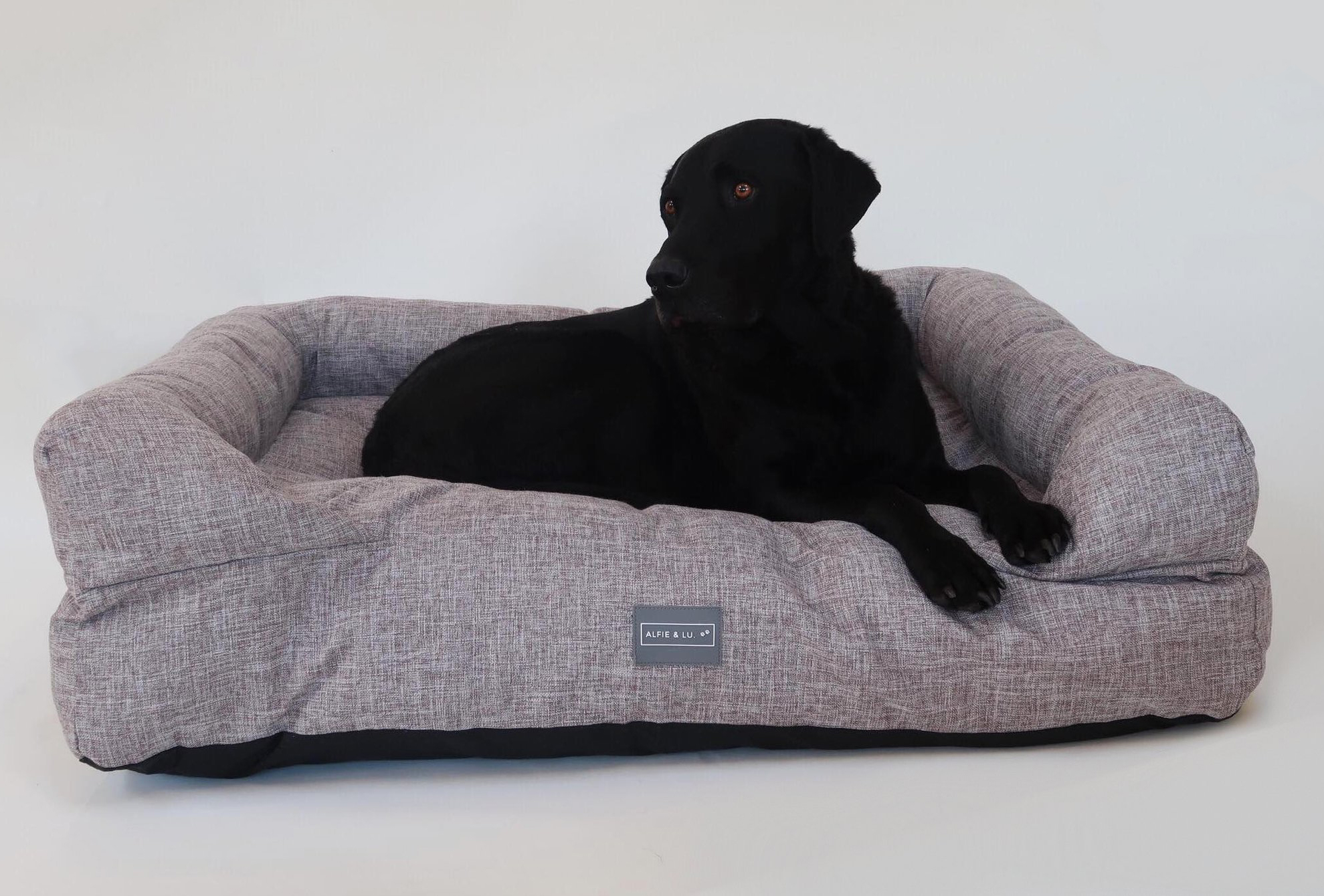 Deep Filled Luxury Dog Bed Lounger