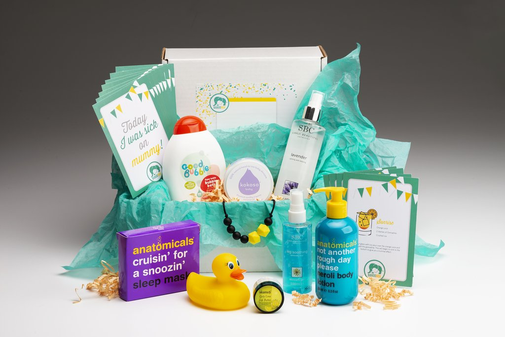 Fourth Trimester Pregnancy Survival Kit Box
