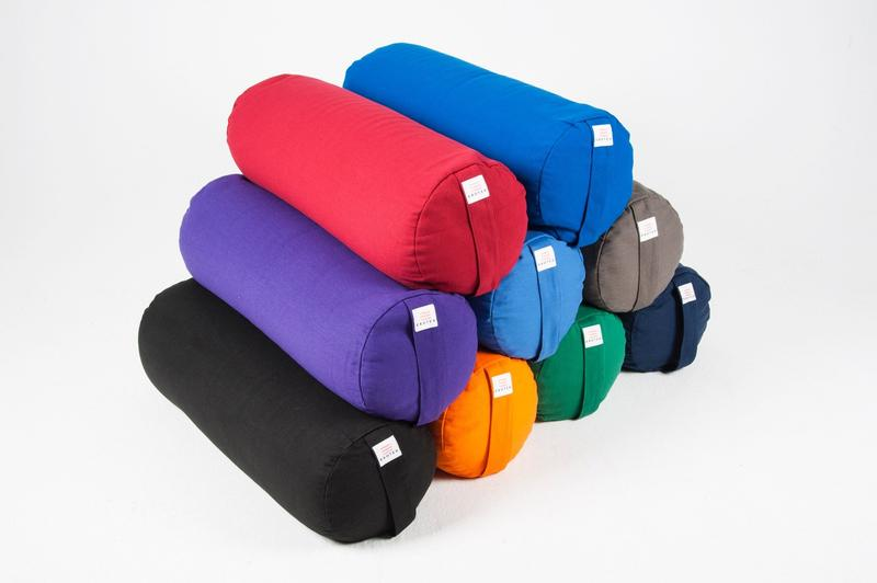 Organic Cotton Buckwheat Bolster Cushion Yoga Prop