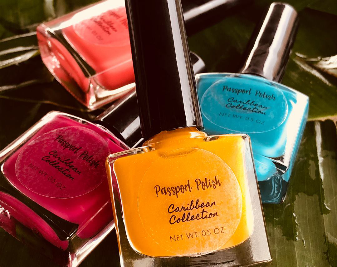Caribbean Collection Colours Nail Varnish Passport Polish