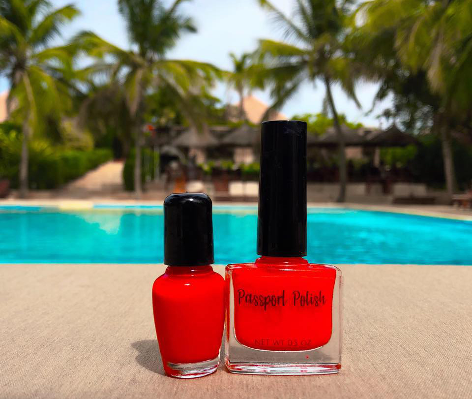 Bright Red Vegan Nail Polish