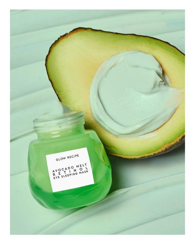 Glow Recipe Avocado Melt Retinol Eye Sleeping Mask Korean Beauty Skincare