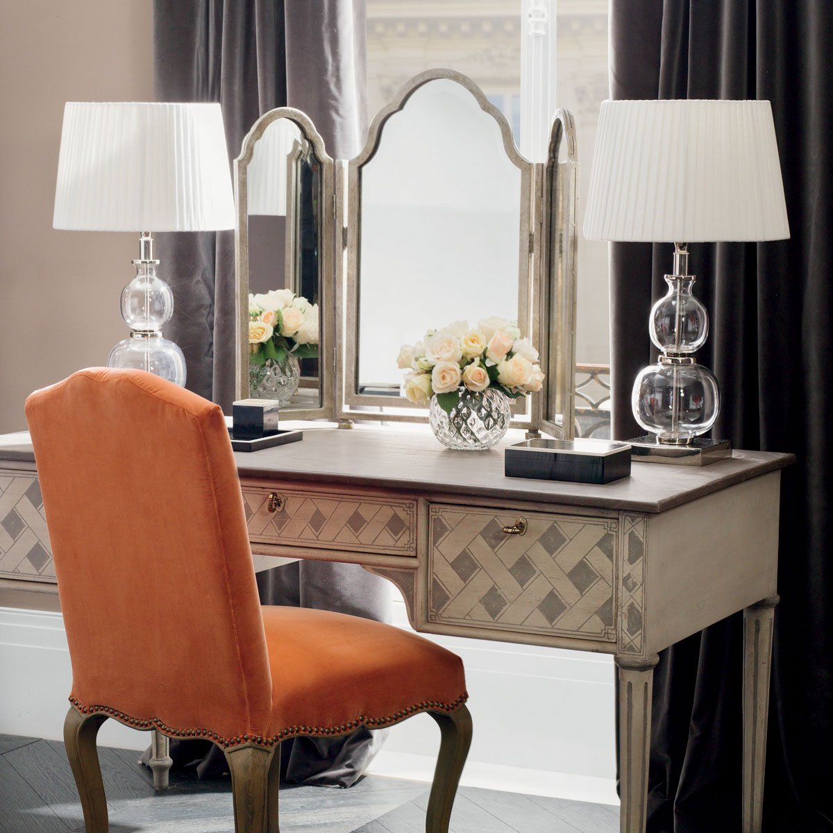Antique Dressing Table Mirror