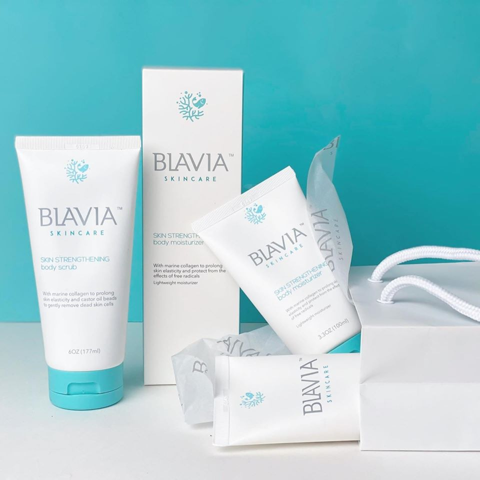 Blavia Skincare Marine Collagen Collection