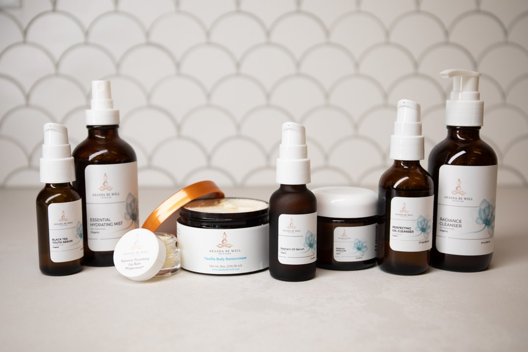 Akasha Be Well Eco Luxe Natural Organic Skincare Collection