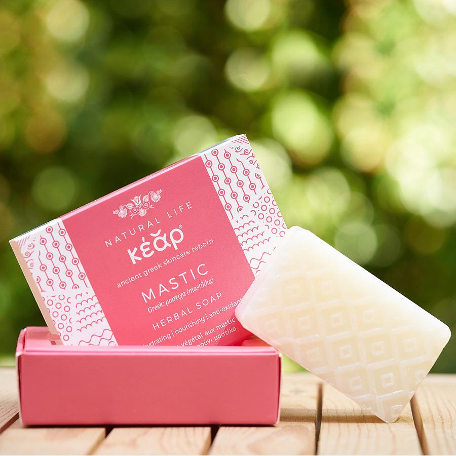 Kear Natural Chios Mastic Essential Oil Herbal Soap