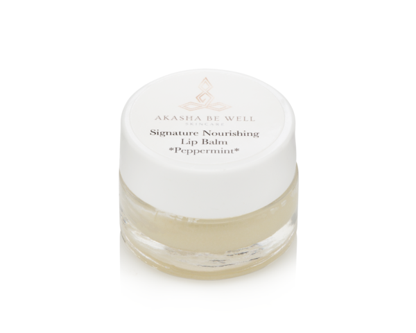 Signature Nourishing Lip Balm with Shea Butter and Coconut Oil.