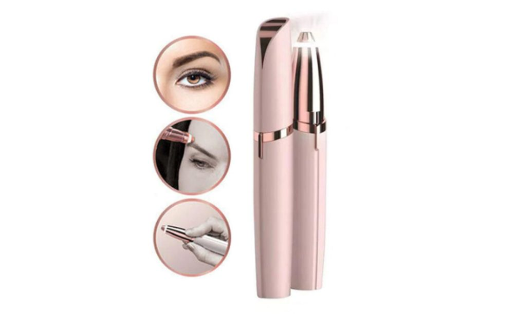 KetchBeauty Electric Eyebrow Trimmer Epilator At Home Hair Removal