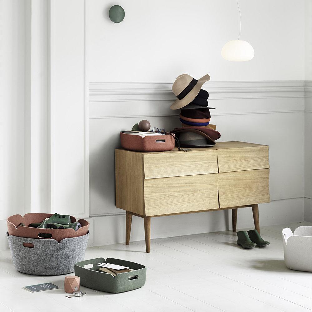 Muuto Relfect Sideboard Oak Scandinavian Modern Contemporary Storage Solution Scandi Style