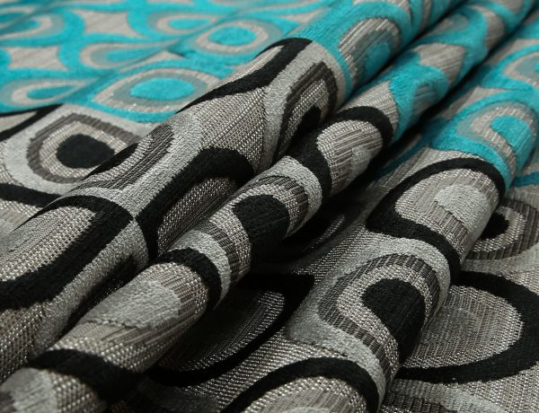 Yorkshire-Fabric-Shop-Half-Half-Black-Grey-Teal-Blue-Geometric-Round-Pattern-Fabric-Soft-Velvet-Upholstery-Fabric-JO11-£42.99-6779916
