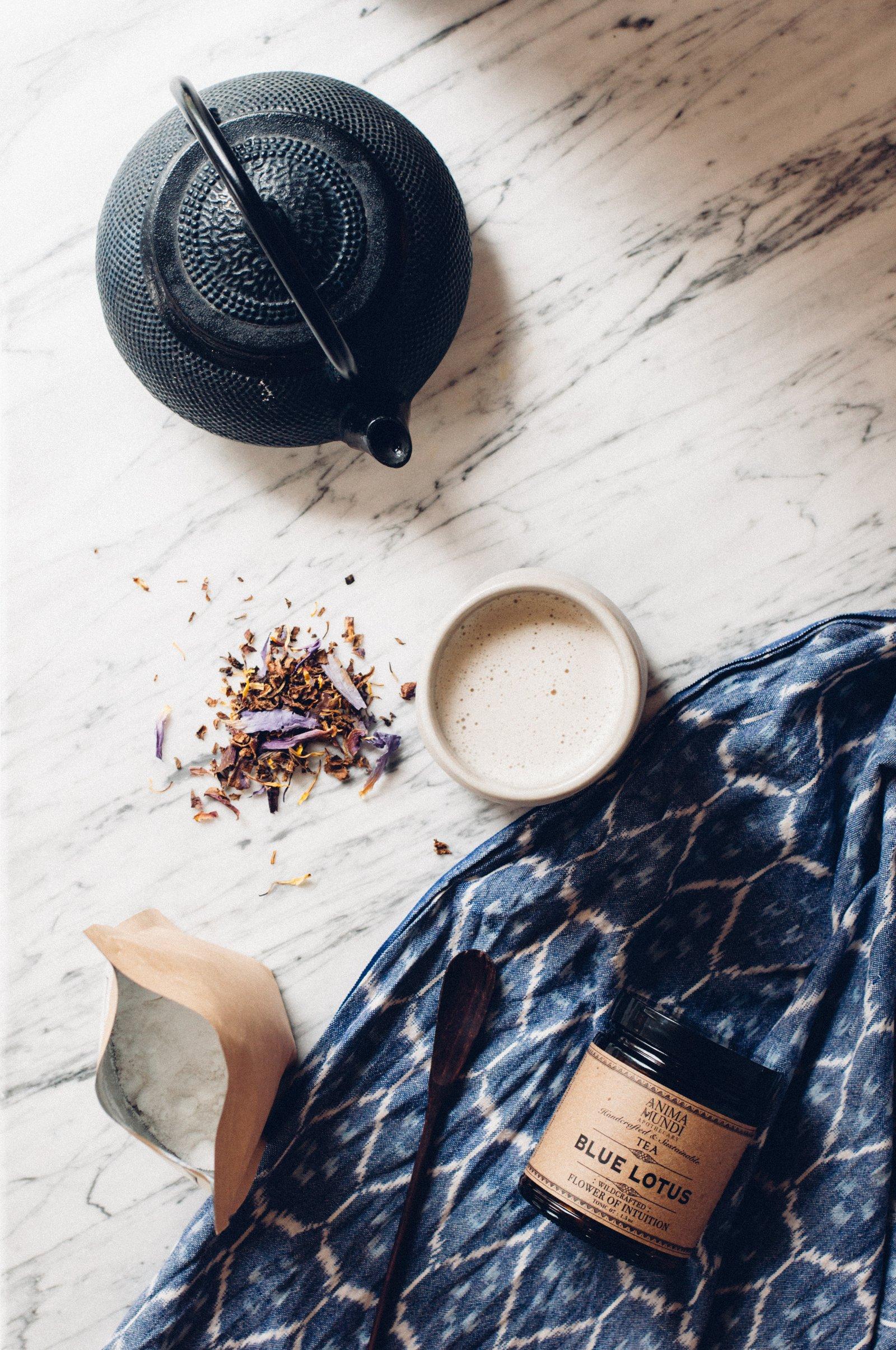 Caeleste Beauty Anima Mundi Blue Lotus Flower Of Intuition Tea Tonic