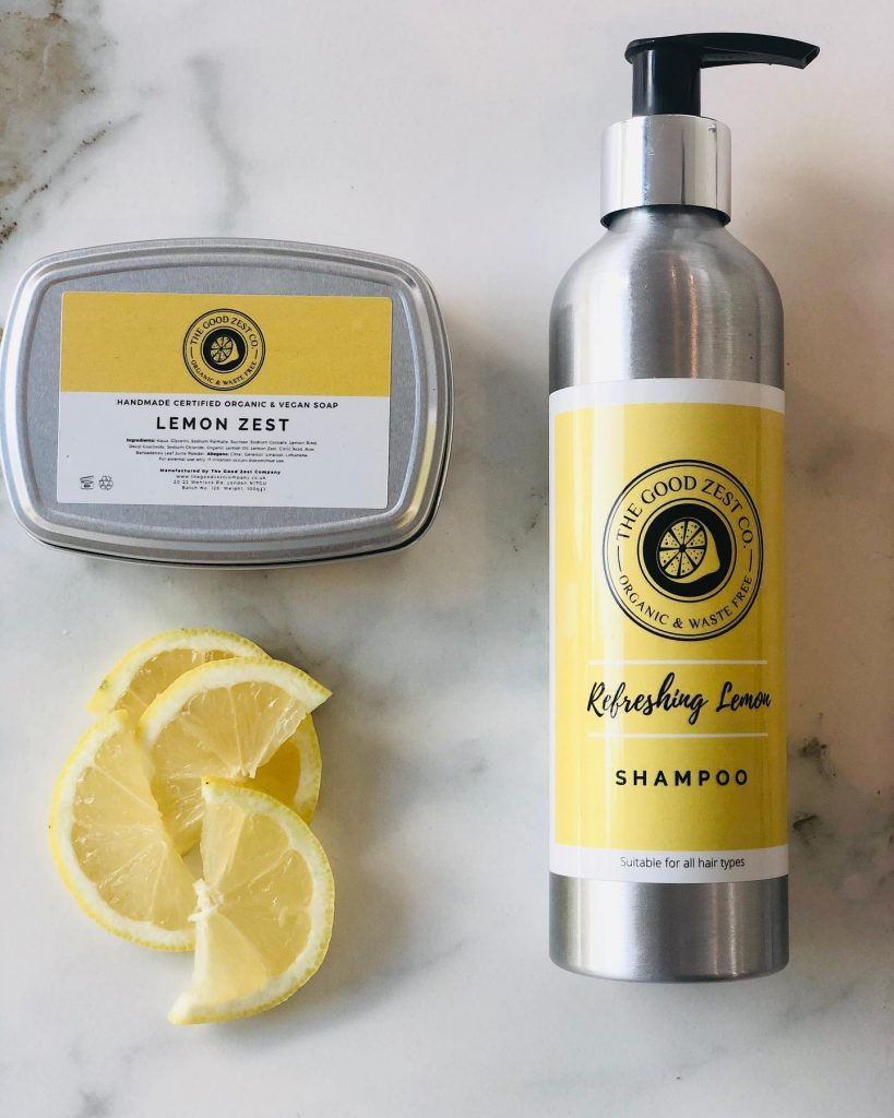 The Good Zest Company Lemon Zest Oils Beauty Products
