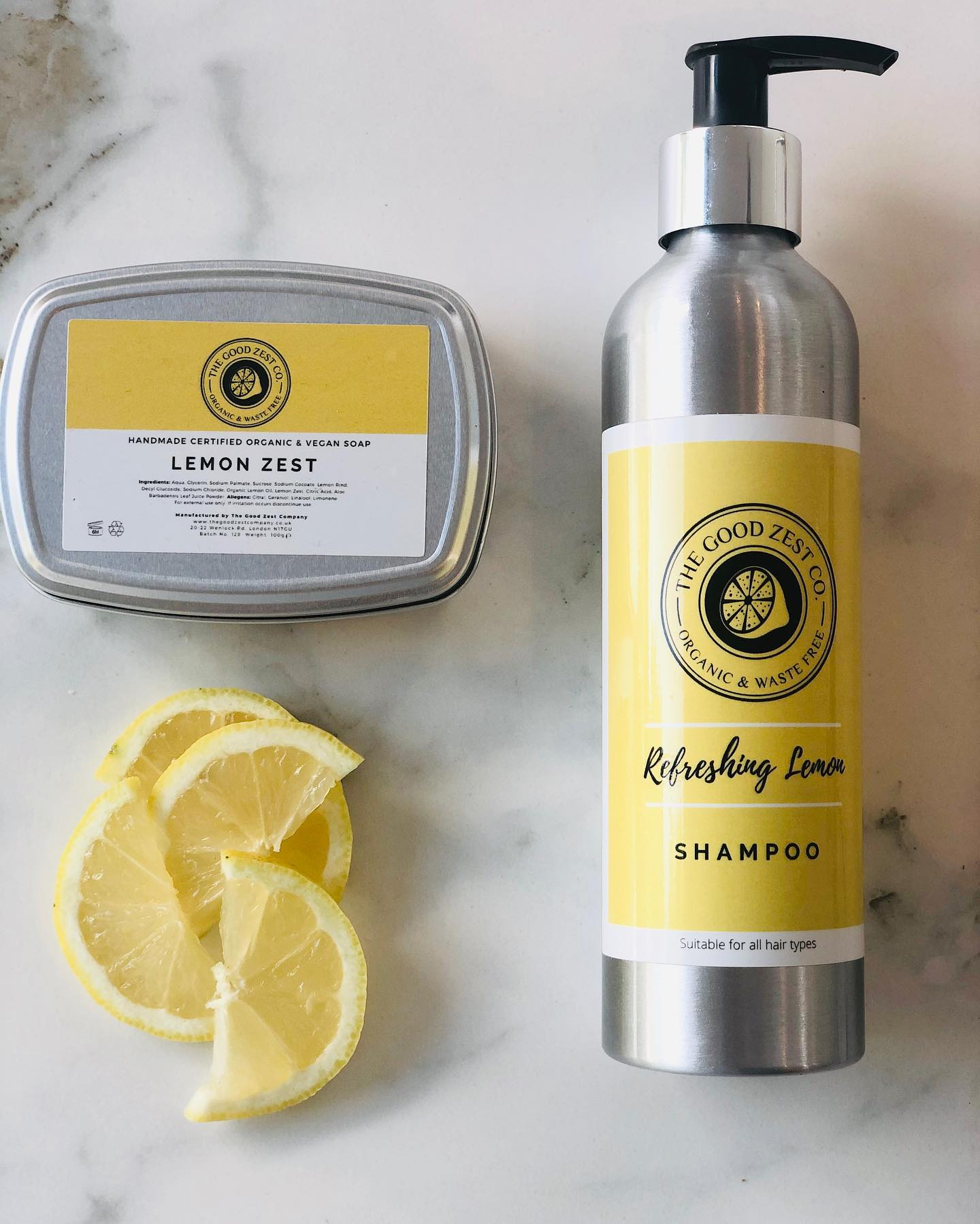 The Good Zest Company Lemon Zest Oils Beauty Products