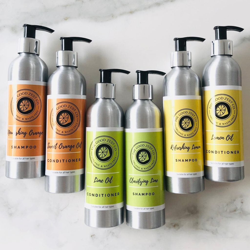 The Good Zest Company Certified Organic Haircare Products