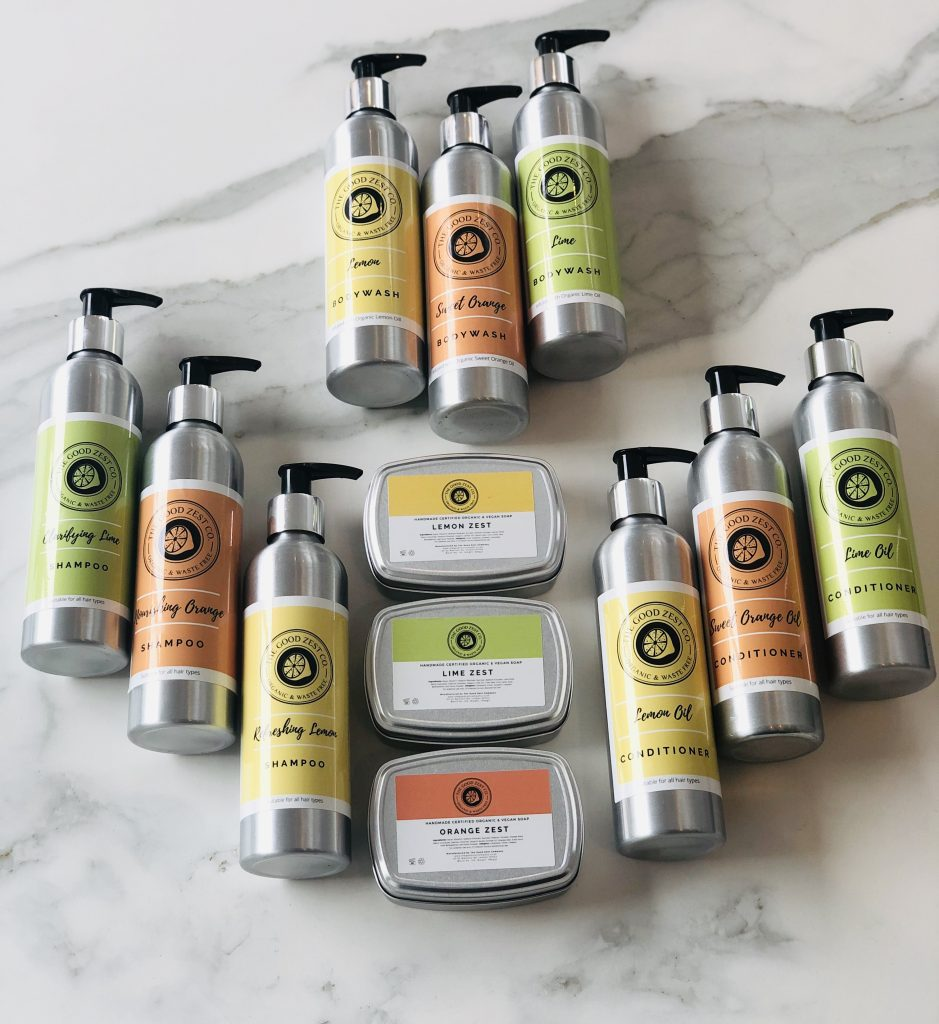 The Good Zest Company Products