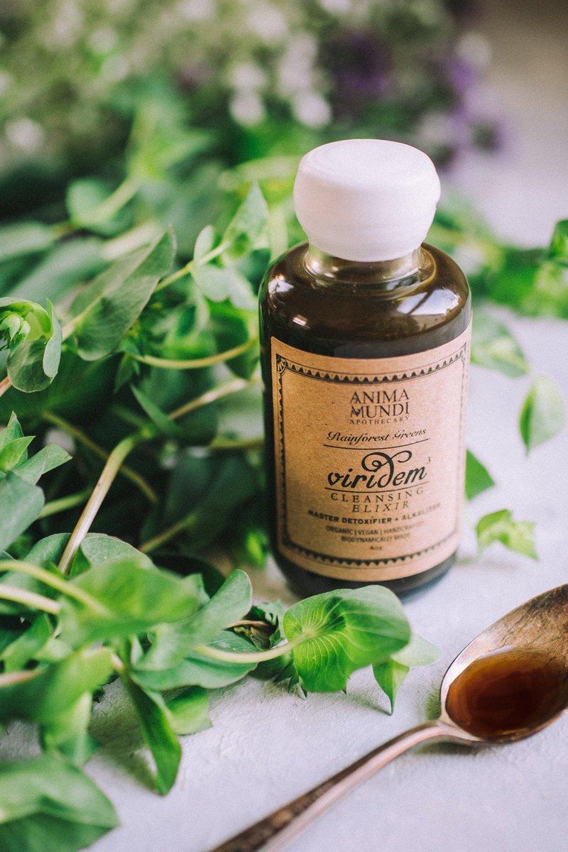 Anima Mundi Viridem Elixir Detox Superfoods Supplement