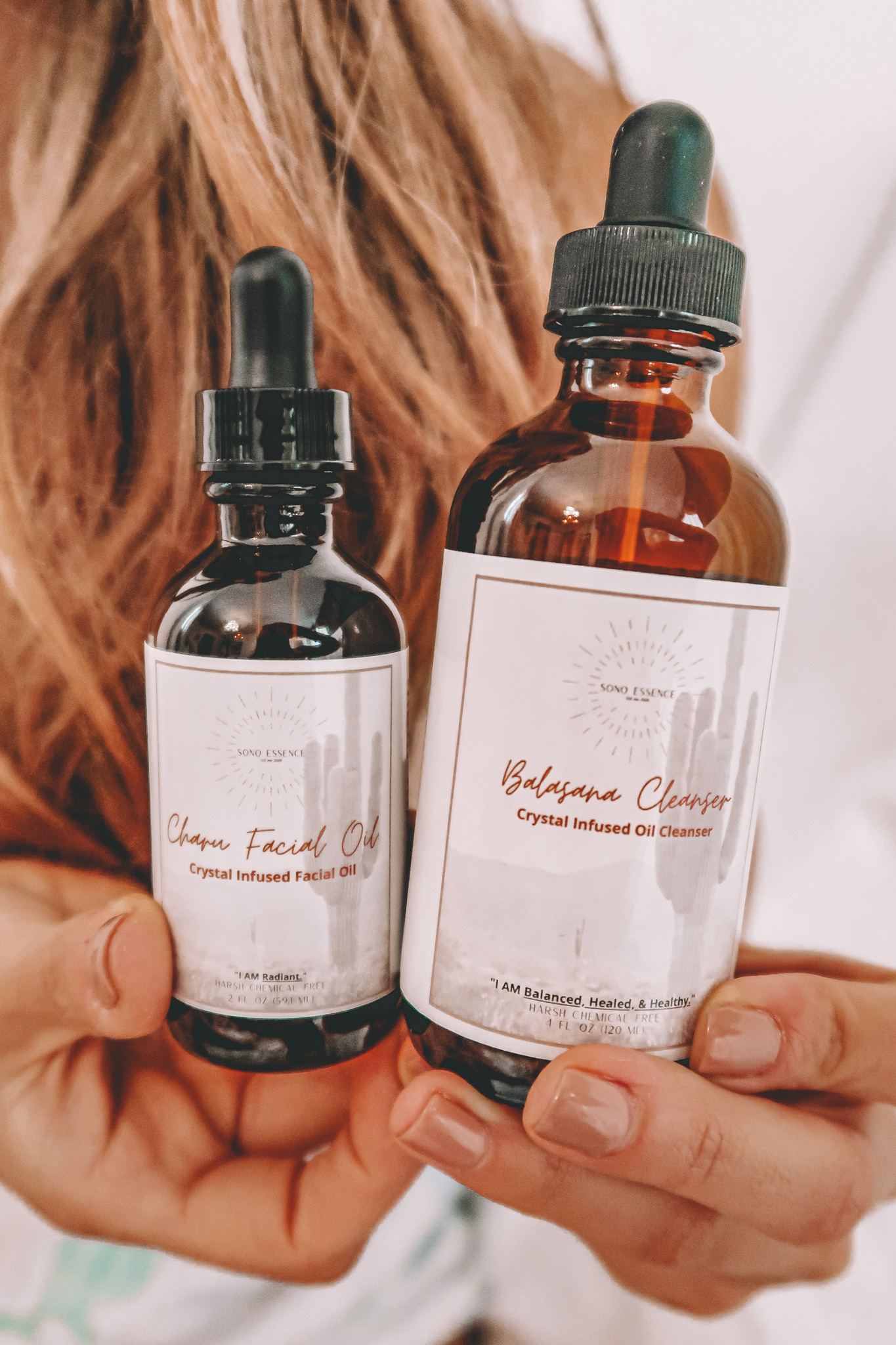 Sono Essence Crystal Infused Luxury Skincare Acne Prone Skin