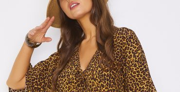 Luxury Beachwear SS21 Animal Print Kaftans Coverups