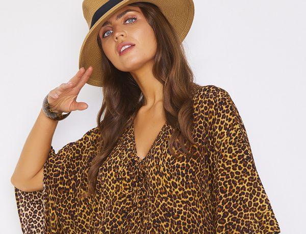 Luxury Beachwear SS21 Animal Print Kaftans Coverups