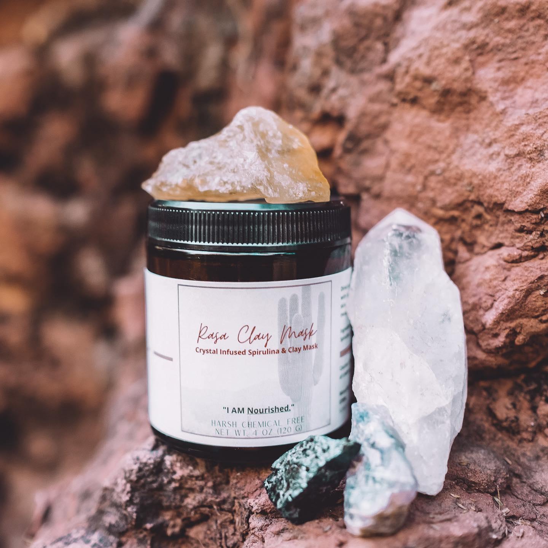 Rasa Clay Mask Sono Essence Crystal Infused Luxury Skincare
