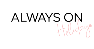 Always On Holiday Swim Logo