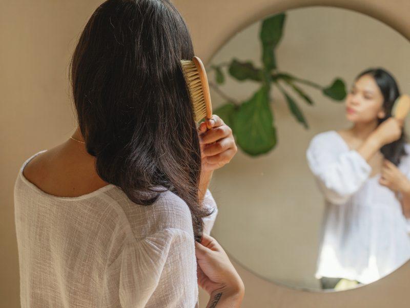 SAYA Designs Natural Wooden Hair Brushes