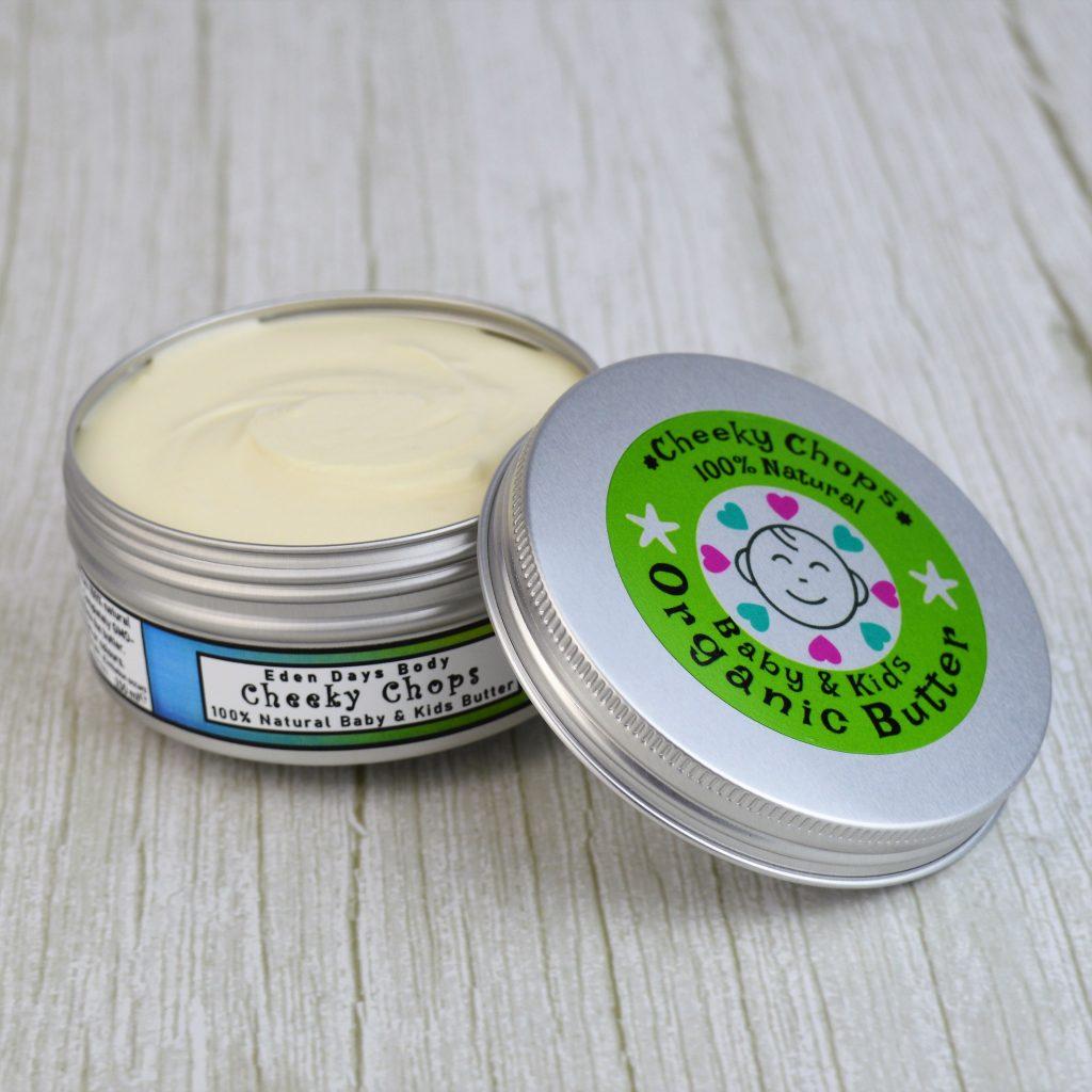 Eden Days Body 100% Natural Cheeky Chops Baby & Kids Organic Butter Balm
