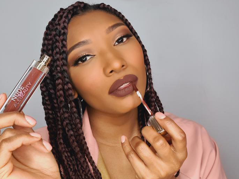 A'Lei Beauty Feature 90s Makeup Black Owned Cosmetics Brand