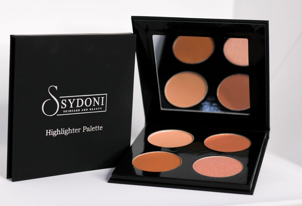 Sydoni Skincare and Beauty Powder Contour and Highlighter Palettes