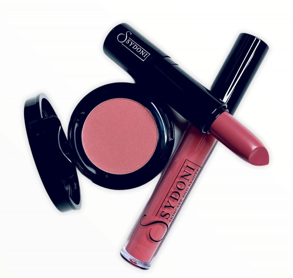 Sydoni Skincare and Beauty Blush Lipstick and Gloss