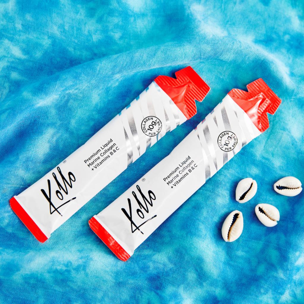 Kollo Marine Collagen Supplements Liquid Sachets Daily Plus Vitamins