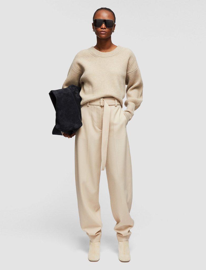 Joseph Fluid Wool Twill Taavi Trousers