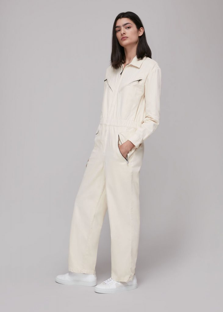 Ultimate Utility Jumpsuit Stone Zip Fastening Cotton Whistles